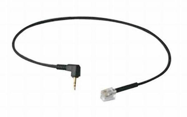 Adapterkabel mit 2 Klinkenstecker 3,5mm auf 4/4 Westernstecker