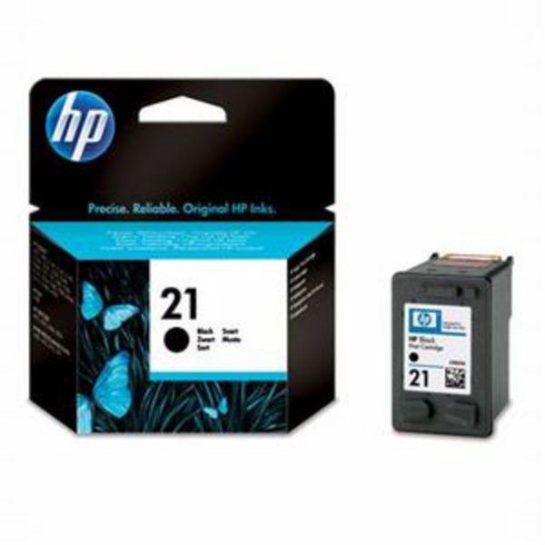 HP Tintenpatrone Nr. 21 C9351AE Schwarz (ca. 190 Seiten)