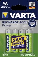 10x4 Varta Rechargeable Accu