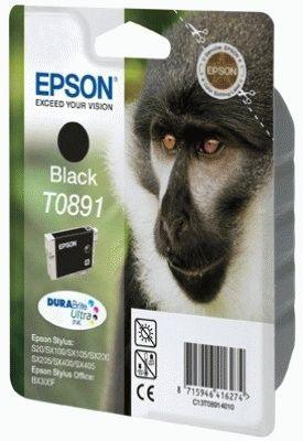 Epson Monkey Tintenpatrone Black T0891 DURABrite Ultra Ink
