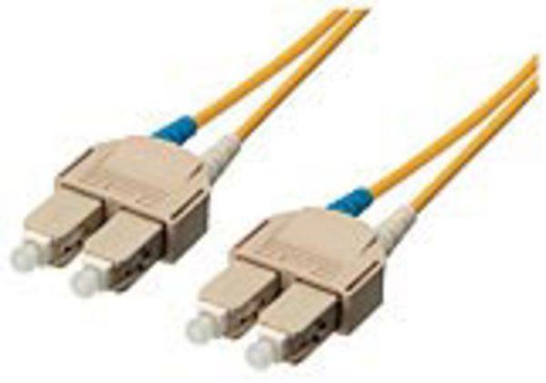 LWL Patchkabel SC/SC 50/125µ, 5m duplex